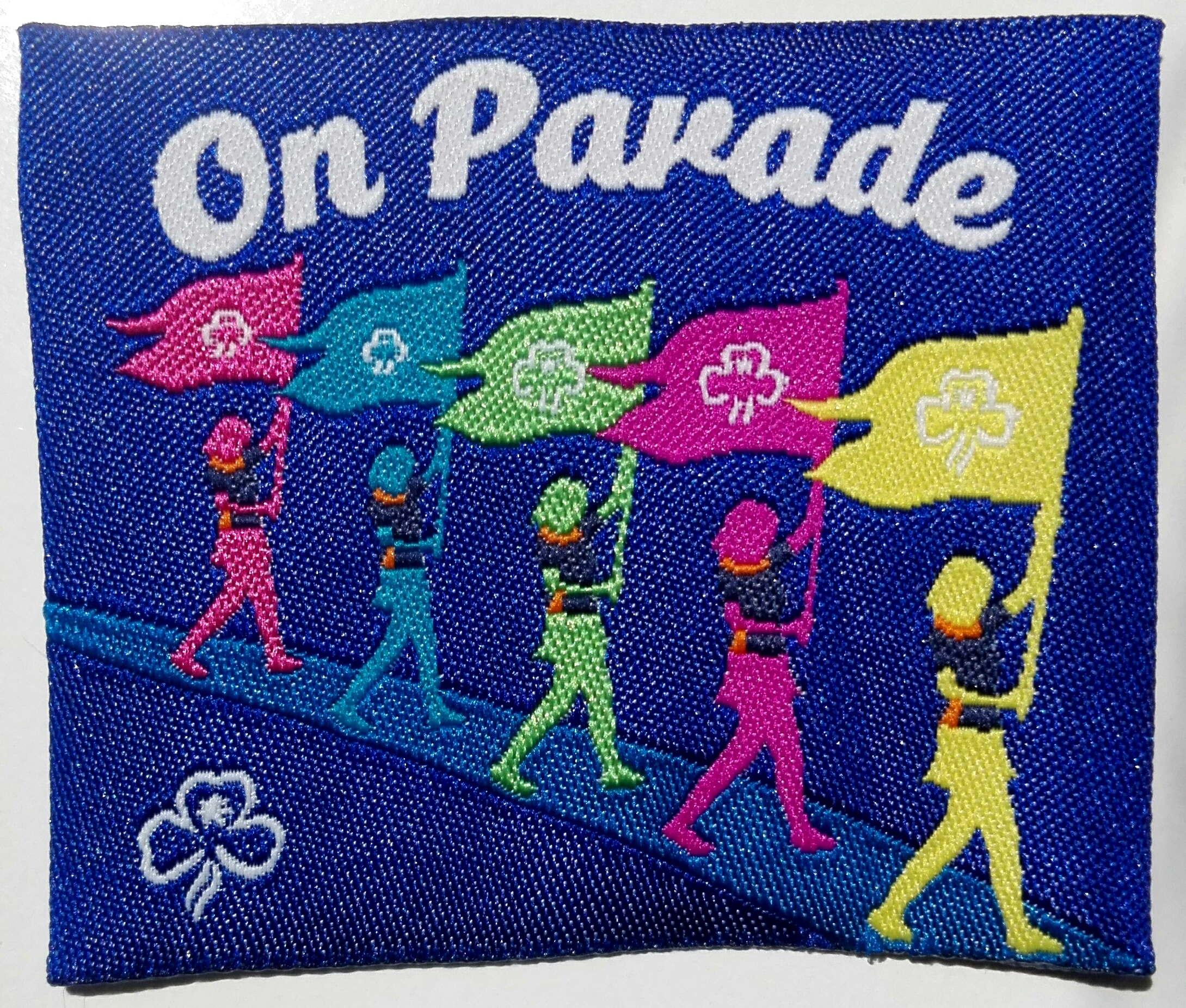 On Parade - New Multicoloured